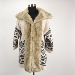 Love 21 Women's Size Small Sweater Coat